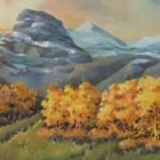 Autumn At Kananaskis Art Print
