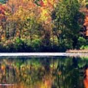 Autumn At Laurel Lake Art Print
