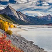 Autumn At Medicine Lake Art Print
