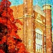 Autumn At Nwmsu Art Print