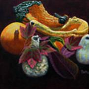 Autumn Beauties Art Print