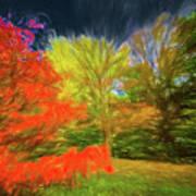 Autumn H3 Art Print