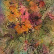 Autumn Blooms Art Print