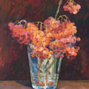 Autumn Bouquet Of Ashberries Art Print