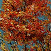 Autumn Burst Art Print
