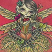 Autumn Butterflies Art Print