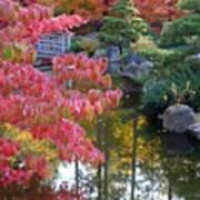Autumn Color Reflection - Digital Painting Art Print