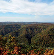 Autumn Comes To The Mountains 3 Art Print