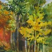 Autumn Day Art Print