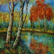 Autumn Day. Art Print
