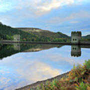 Autumn Derwent Reservoir Derbyshire Peak District Art Print