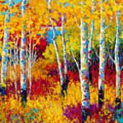 Autumn Dreams Art Print by Marion Rose