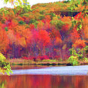 Autumn East Coast I Art Print