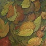 Autumn Falling Art Print