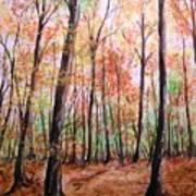 Autumn Forrest Art Print