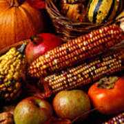Autumn Harvest  Art Print by Garry Gay