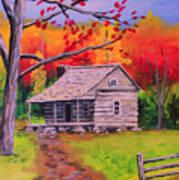 Autumn Home Art Print