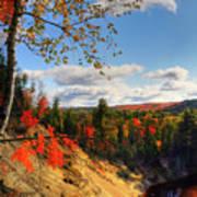Autumn In Arrowhead Provincial Park Art Print