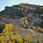 Autumn In Aspen Art Print