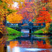 Autumn In Boston Art Print