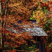 Autumn In Cades Cove Smnp Art Print