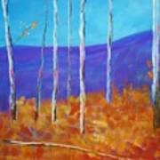 Autumn In Cloudcroft Art Print