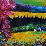 Autumn In Lissoir  Art Print