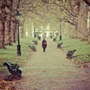 Autumn In London Art Print