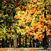 Autumn In Olde Virginia Art Print