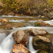 Autumn In Provo Canyon Art Print
