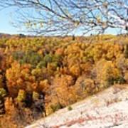 Autumn In Riding Mtn National Park Art Print