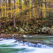 Autumn In Smoky Mountains National Park  Art Print