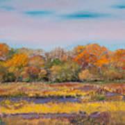Autumn In The Adirondack Mountains Art Print