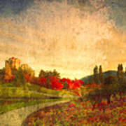 Autumn In The City 2 Art Print