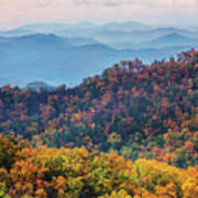 Autumn In The Great Smoky Mountains Art Print