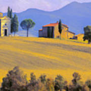 Autumn In Tuscany Art Print