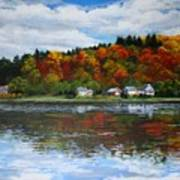 Autumn In Vermont  Art Print