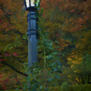 Autumn Lamp Art Print