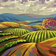 Autumn Lanscape Art Print
