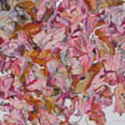 Autumn Leafes Art Print