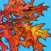 Autumn Leaves 14 Art Print