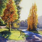 Autumn Light Tarana Art Print