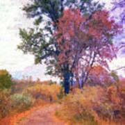 Autumn Melancholy Art Print