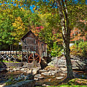 Autumn Mill 2 Art Print