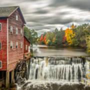Autumn Mill Art Print