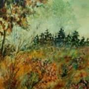 Autumn Mist 68 Art Print