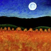 Autumn Moon I Art Print