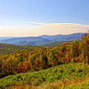 Autumn Mountains Art Print