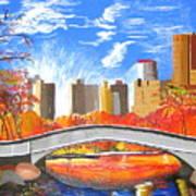 Autumn Oasis Art Print