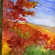 Autumn On The Cherohala Skyway Art Print
